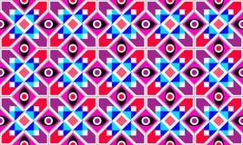 Modello senza cuciture di vettore geometrico astratto illustrazione di stock