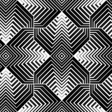 Modello senza cuciture di vettore geometrico dei petali Immagine Stock Libera da Diritti