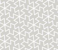 Modello senza cuciture di vettore geometrico semplice dell'estratto con la linea bianca struttura su fondo grigio Moderno grigio  royalty illustrazione gratis