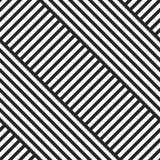 Modello senza cuciture diagonale a strisce geometrico illustrazione di stock