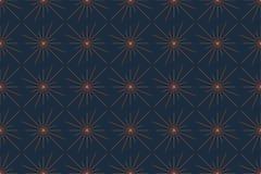 Modello senza cuciture e astratto del fondo fatto con le linee alla luce/astrazione della stella illustrazione vettoriale