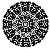 Modello senza cuciture e geometrico in bianco e nero fotografie stock libere da diritti