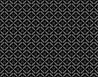 Modello senza cuciture floreale in bianco e nero di vettore royalty illustrazione gratis