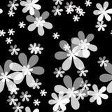 Modello senza cuciture floreale con il fondo dei fiori Immagini Stock