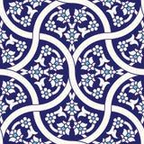 Modello senza cuciture floreale dell'Uzbekistan illustrazione di stock