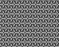 Modello senza cuciture floreale della scala di grigi astratta illustrazione di stock