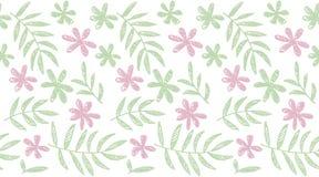 Modello senza cuciture floreale di concetto tropicale di estate Fotografie Stock
