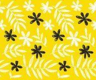 Modello senza cuciture floreale di concetto tropicale di estate Fotografia Stock Libera da Diritti