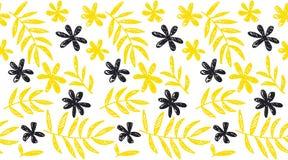 Modello senza cuciture floreale di concetto tropicale di estate Fotografia Stock