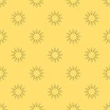 Modello senza cuciture floreale di vettore illustrazione di stock