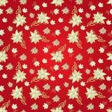 Modello senza cuciture floreale rosso dell'annata Immagine Stock Libera da Diritti