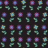 Modello senza cuciture floreale sveglio. Il modello senza cuciture può essere usato per w Fotografia Stock