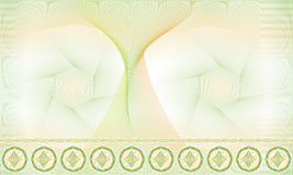 Modello senza cuciture, fondo, rosetta decorativa della rabescatura per i certificati o diplomi Immagine Stock Libera da Diritti