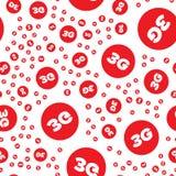 modello senza cuciture 3G Fotografia Stock Libera da Diritti