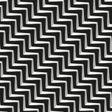 Modello senza cuciture geometrico astratto delle linee Immagini Stock Libere da Diritti