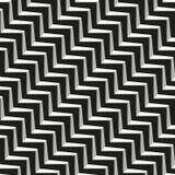 Modello senza cuciture geometrico astratto delle linee Fotografia Stock