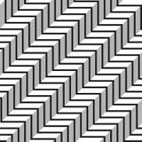 Modello senza cuciture geometrico astratto delle linee Fotografie Stock