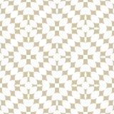 Modello senza cuciture geometrico astratto dorato Bianco di vettore ed ornamento dell'oro illustrazione di stock