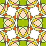 Modello senza cuciture geometrico astratto variopinto Immagini Stock