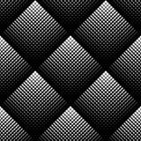 Modello senza cuciture geometrico in bianco e nero, fondo astratto illustrazione di stock