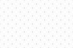 Modello senza cuciture geometrico con le linee ed i punti collegati Struttura del tessuto Allinea i cerchi del plesso Fondo grafi illustrazione di stock