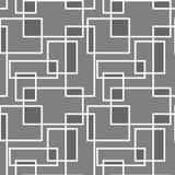 Modello senza cuciture geometrico con restangle d'intersezione illustrazione di stock