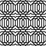 Modello senza cuciture geometrico d'annata illustrazione di stock