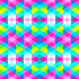 Modello senza cuciture geometrico dei triangoli illustrazione vettoriale