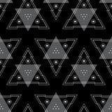 Modello senza cuciture geometrico del fondo astratto Immagini Stock