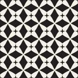 Modello senza cuciture geometrico del mosaico Immagine Stock