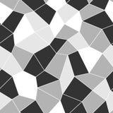 Modello senza cuciture geometrico del mosaico Fotografie Stock