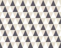 Modello senza cuciture geometrico del triangolo Immagine Stock Libera da Diritti