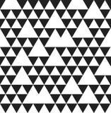 Modello senza cuciture geometrico del triangolo Immagini Stock Libere da Diritti