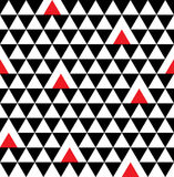 Modello senza cuciture geometrico del triangolo Fotografia Stock
