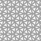 Modello senza cuciture geometrico di vettore Fotografia Stock