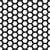 Modello senza cuciture geometrico di vettore Priorità bassa in bianco e nero Immagine Stock