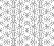 Modello senza cuciture geometrico nello stile asiatico Immagine Stock