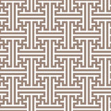 Modello senza cuciture geometrico nello stile asiatico Immagini Stock