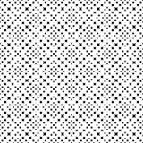 Modello senza cuciture GEOMETRICO nero nel fondo bianco Immagini Stock