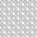 Modello senza cuciture geometrico semplice dai triangoli Immagine Stock