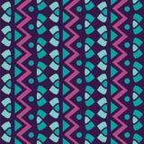 Modello senza cuciture geometrico semplice verticale di vettore del tessuto royalty illustrazione gratis