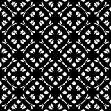 Modello senza cuciture geometrico sottile, stile orientale Elemento scuro di progettazione illustrazione vettoriale