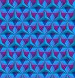 Modello senza cuciture geometrico triangolare Illustrazione Vettoriale