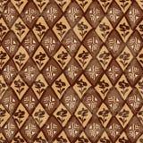 Modello senza cuciture geometrico tribale etnico Fotografie Stock
