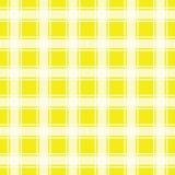 Modello senza cuciture giallo, fondo del percalle royalty illustrazione gratis