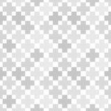 Modello senza cuciture grigio geometrico astratto Fotografie Stock