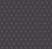 Modello senza cuciture grigio scuro di illusione di struttura 3d illustrazione di stock