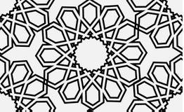 Modello senza cuciture islamico di vettore illustrazione di stock
