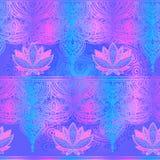 Modello senza cuciture Lotus Royalty Illustrazione gratis