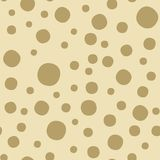 Modello senza cuciture macchiato estratto puntini Stampa geometrica di progettazione di modo monocromatico royalty illustrazione gratis